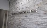 いしまつ歯科クリニック様 ステンHLレーザー切り文字