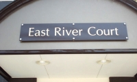 East River Court様のマンション入口