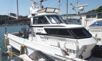 遊漁船 つれたか丸様 船体マーキング